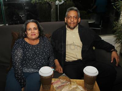 Patricia y Fernando.