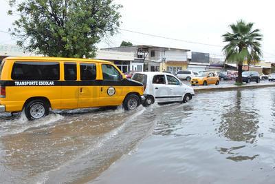 Con corte de las 13:00 horas, la Conagua reportó un acumulado de 50 milímetros de precipitación en Torreón.