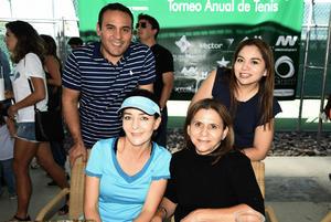 28092018 Paola Torres, Mary Meléndez, Iliana Salsamendi y Juan Carlos Ortiz.