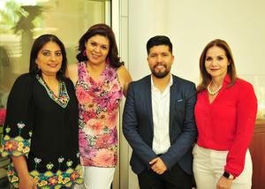 28092018 Francisca Garnica, Violeta Valenzuela, Eduardo Ríos y Silvia Garza.