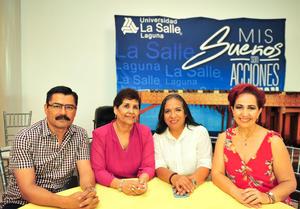 28092018 Isabel Chimal, Liliana Díaz, Cynthia Rodríguez, Jan Castellanos, José Sifuentes y Luis Ernesto Dávila.