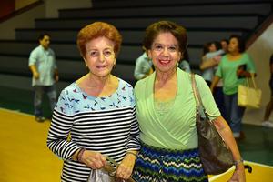 28092018 AMIGAS.  Lucía y Hortensia.