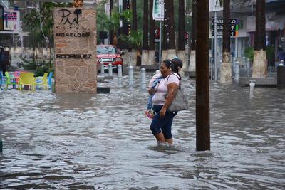 Lluvia provoca caos nuevamente en la región