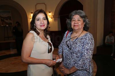 Maria Elena Díaz y María Estela Segovia.