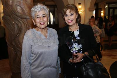 Gisela Manzanera y Martha Mussio.