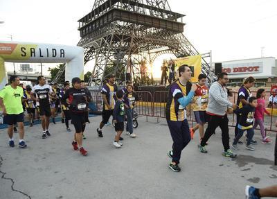 La respuesta de la comunidad atlética de La Laguna fue espectacular hacia este evento de beneficencia.