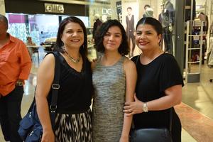29092018 Ruth Castrillón, Abril Valdez y Alicia Castrillón.