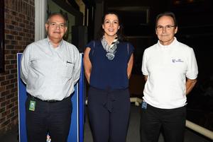29092018 Rafael Garza Jáuregui, Mariel Hawley y Gerardo Gamiochipi.
