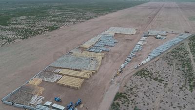 Este parque solar generará mil megawatts, que a su vez se proveerán a la Comisión Federal de Electricidad, para el consumo doméstico.