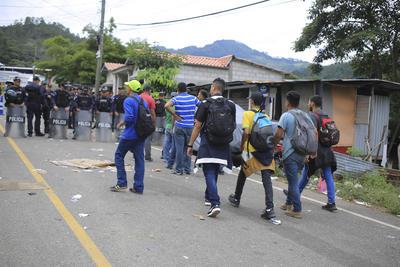 Son migrantes centroamericanos los que la conforman.