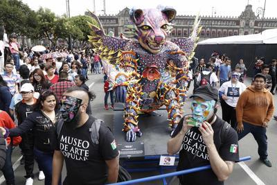 En el marco de la celebración del Día de Muertos, se llevarán a cabo distintas actividades en la Ciudad de México. Hoy por la tarde se realizará la Mega Procesión de las Catrinas organizada por la organización Mega Body Paint México.
