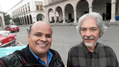 25102018 Alejandro González y Carlos Burciaga.