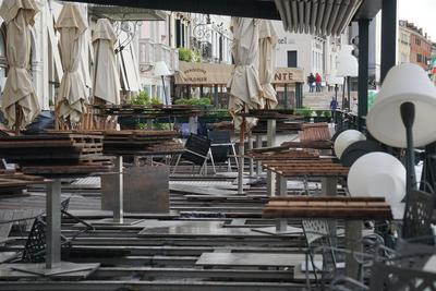 La mayor parte de Italia está bajo alerta de inundaciones provocadas por fuertes lluvias.