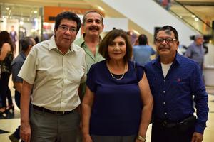 01102018 Joaquín, Carlos, Lourdes y Juan José.