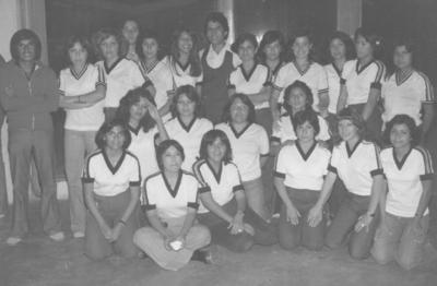 Equipo deportivo de la Generación 1978-1983 de la Facultad de Derecho de la UAdeC