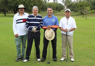 Sergio Martínez, Antonio Díaz, Zito Quiroga y Alfredo Morales.