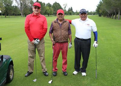 Abraham Salazar, Miguel Nevárez y José L. Santiesteban.