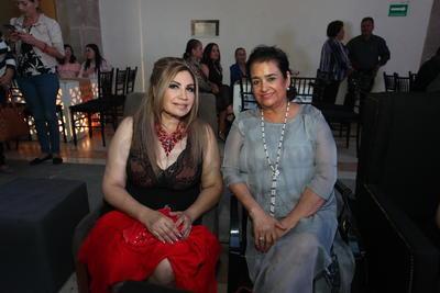Guadalupe Enríquez y Patricia Alanis.