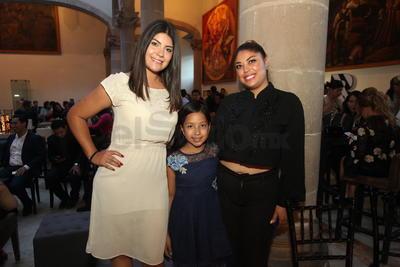 Ruby Villa, Nayeli Castro y Marly Bravo.