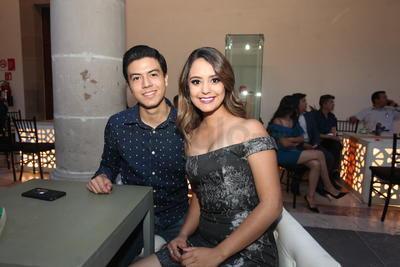 Alexandra y Luis Maldonado.