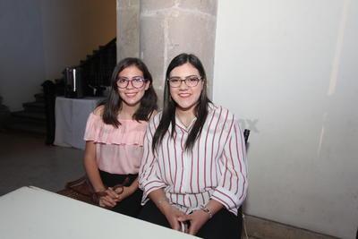 Mariana y Solangel.