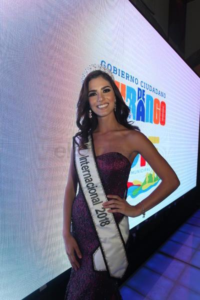 Nebai Torres, originaria de Jalisco, y actual Miss Internacional 2018 fue invitada especial.