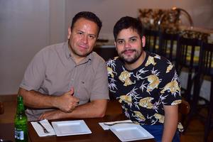 Oscar y Miguel