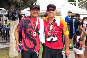 Jacobo Castillo y Jorge Betancourt