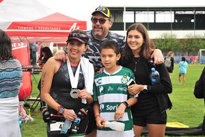 Pablo Fernando Sofia y Lorena primer lugar en su categoria