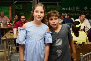 Romina Murra y Mikel Ibarguengoytia