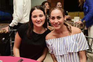 Sofi Salinas y Barbara Hoyos
