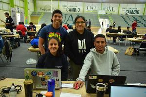 05102018 Jorge Alberto, Eunice, Cynthia y Diego.