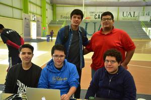 05102018 Jasiel, Luis Ernesto, Daniel, José Luis y Gustavo.