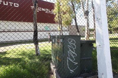 Años de vandalismo se reflejan al exterior del ITD