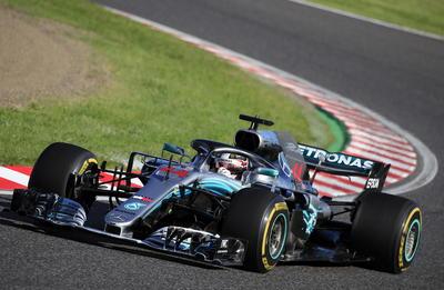 El chofer de Mercedes tenía el primer puesto de largada y nunca fue desafiado con seriedad.