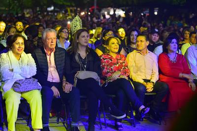 Al concierto asistió el gobernador de Durango, José Rosas Aispuro, así como alcaldes y funcionarios.