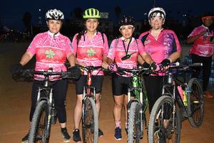 08102018 Dorysela, Abigaíl, Gloria y Gaby.