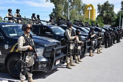 """Dice Pliego Salinas que en """"un análisis de las estadísticas de índice delictivo en Torreón se tuvo un incremento de 5.37 por ciento en todo lo que significa robo a negocio, robo a persona robo a vehículo, robo a casa-habitación""""."""