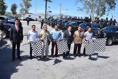 Autoridades de seguridad dieron el banderazo de arranque del operativo.