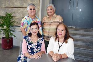09102018 Martha, Beba, Covadonga y Deborah.
