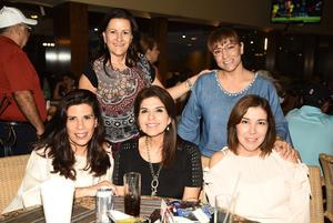 09102018 Ana, Maricruz, Angélica, Adriana y Monse.