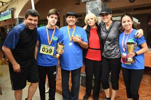 10102018 Tim Araiza, Andrés Araiza, Fidel Lozano, Alicia de Lozano, Paty Lozano y Sofía Araiza.