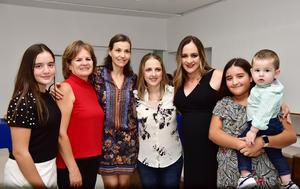 10102018 Patricia, Rocío, Patricia, Sofía, Paty, María Emilia y Ricky.