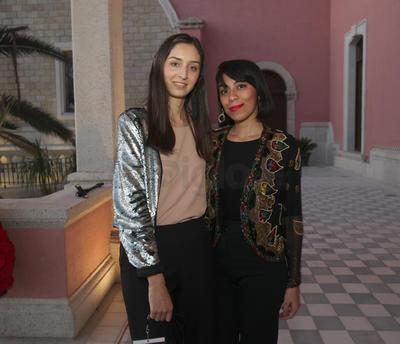 Azury Chairez y Jimena Ramos.