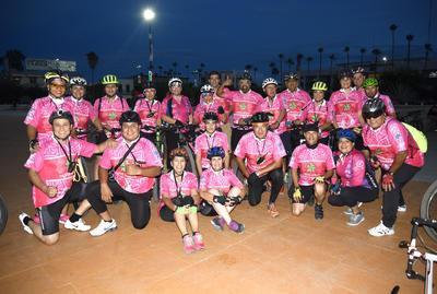 11102018 Integrantes del Club Eco Ciclismo.