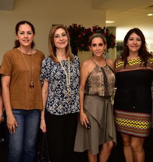 11102018 Adriana Blázquez, Lenny Gibert, Liz Ochoa y Susy Dingler.