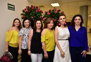 11102018 Sandra, Malena, Cristina, Rosy, Elena y Carmen.