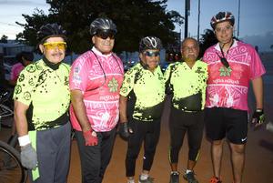 11102018 ENTRE AMIGOS.  Francisco, Juan, Agustín, Raymundo y Arturo.
