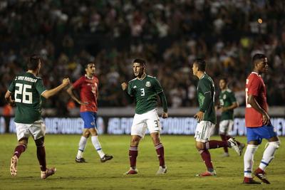 Con goles de Víctor Guzmán, Henry Martín y Raúl Jiménez, la Selección Mexicana consiguió derrotar a sus similares de Costa Rica en el amistoso internacional en Monterrey.