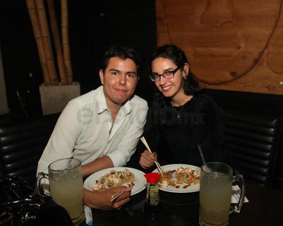 Eduardo Newman y Sofía Murguía.